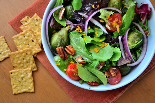 Toasted-Walnut-Brussels-Sprouts-Salad-with-Orange-Poppy-Seed-Dressing-Dinner
